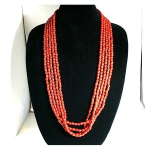 MNG Mango beaded necklace